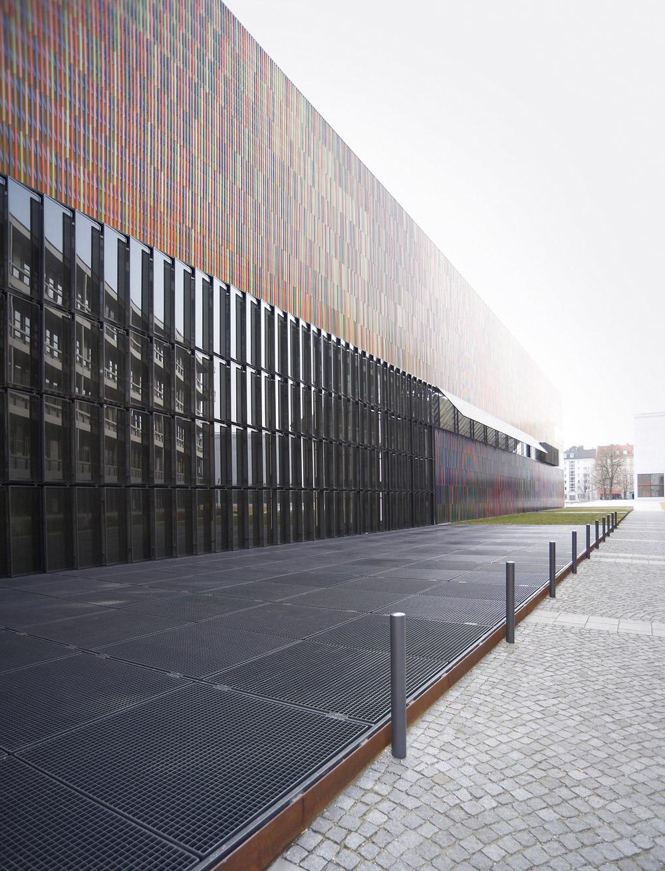museum brandhorst m nchen deutschland schmitt sohn aufz ge. Black Bedroom Furniture Sets. Home Design Ideas